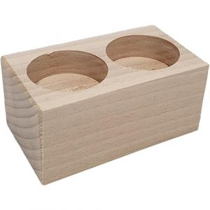 houten theelichthouders graveren - ZosTof op maat bedrukking