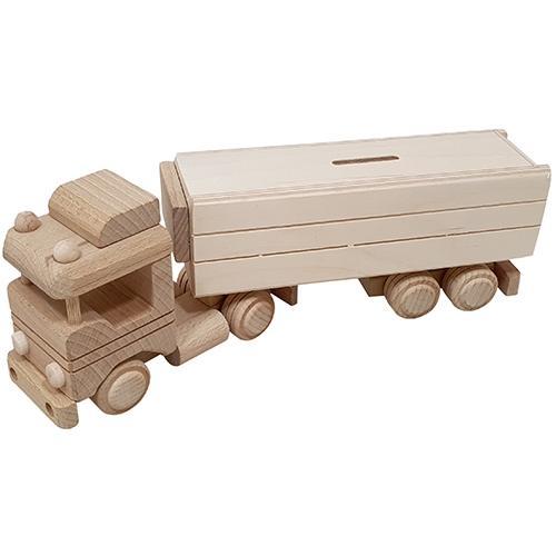 houten vrachtwagen graveren - ZosTof op maat bedrukking