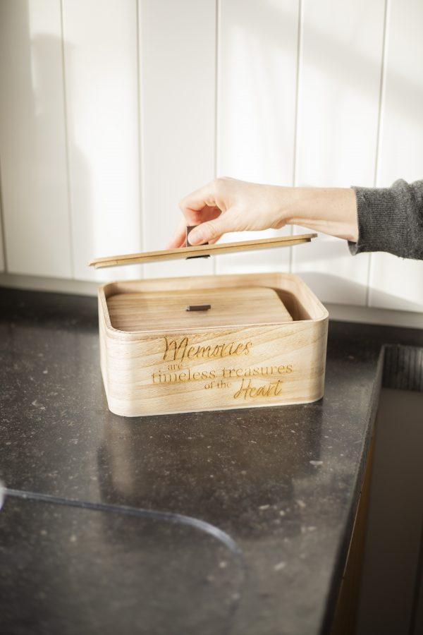 luxe opberg doos hout