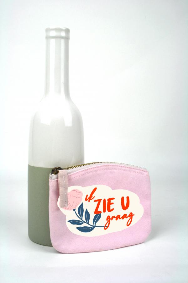 portemonneetje roze